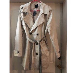 Lane Bryant Trench Coat